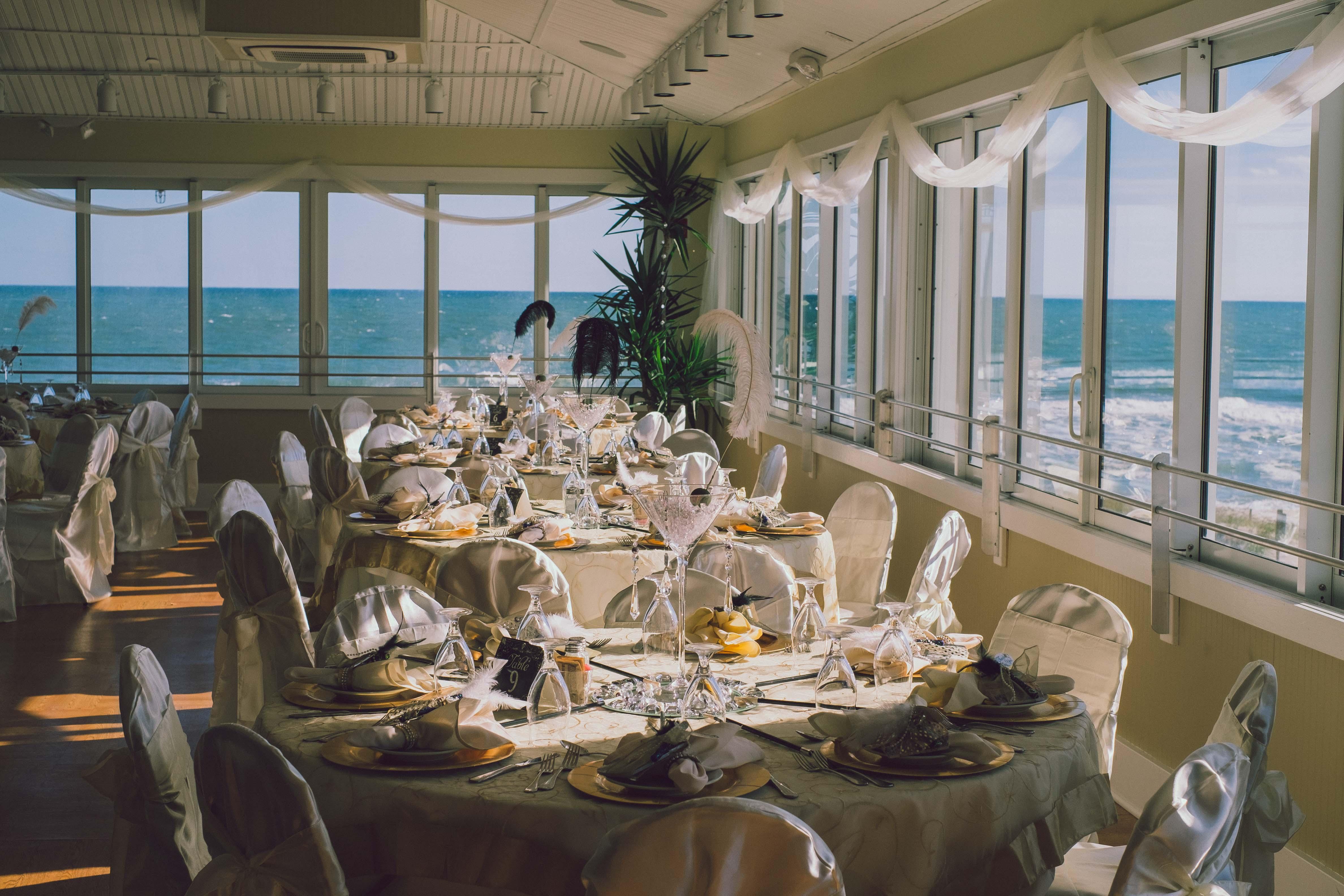Ocean pavilion wedding